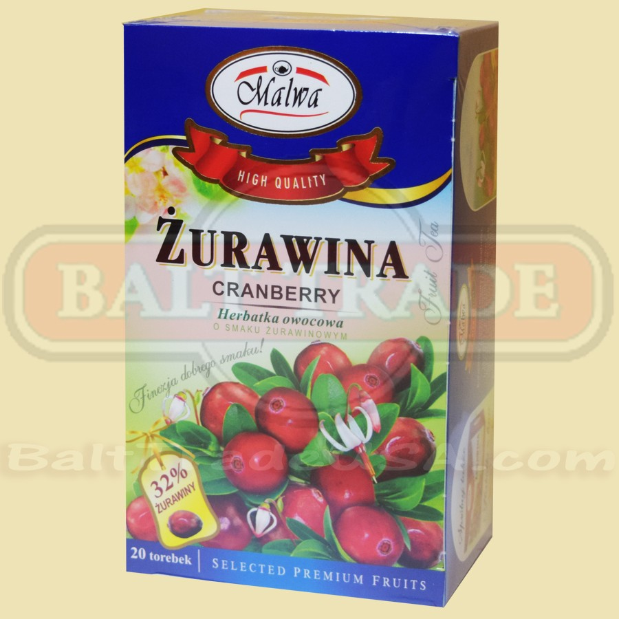 Flavored Express Fruit Cranberry Tea 00260