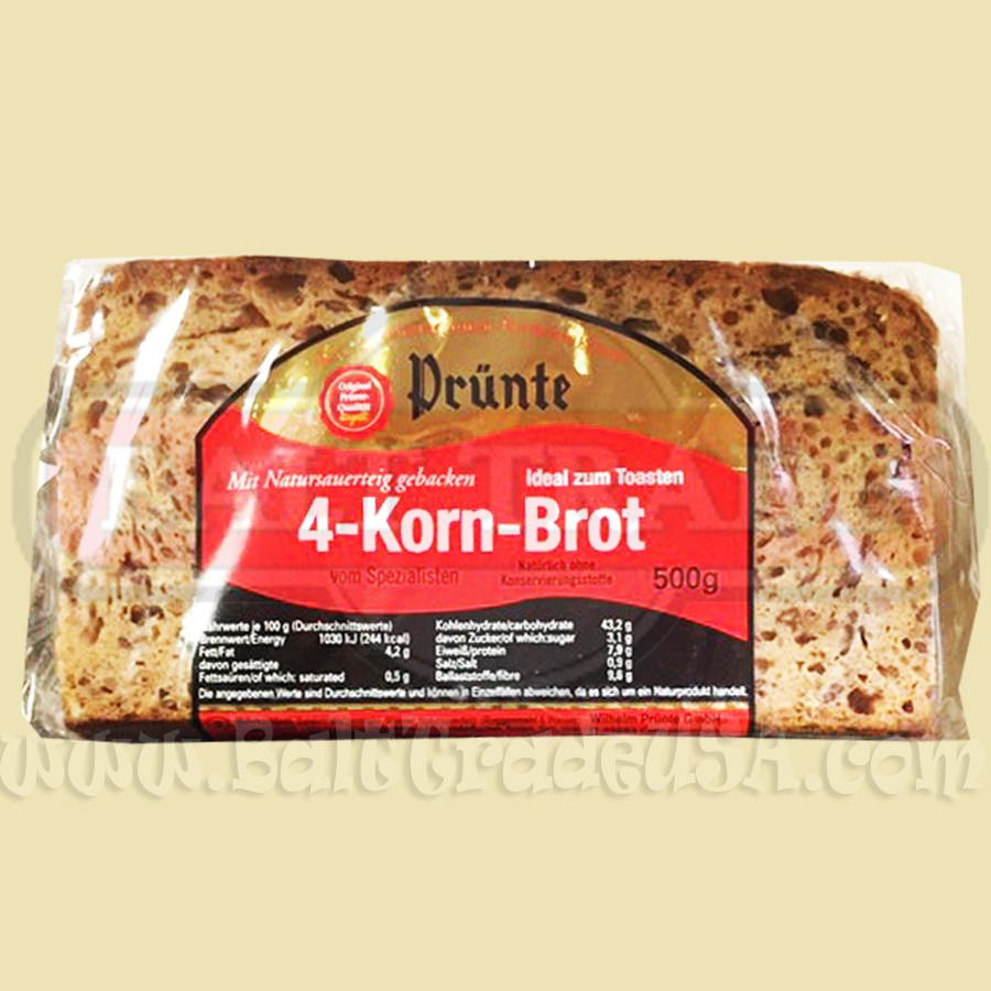 Germany 4 Grains Bread ( Ready To Eat )
